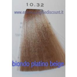 Tinta Capelli Professionale CorIng ING agli acidi di frutta da 100 ml - 10.32 BIONDO PLATINO BEIGE