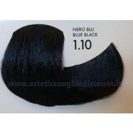 Tinta professionale senza Ammoniaca ColorIng ING - 1.10 NERO BLU