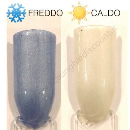 Gel Unghie Colorato UV/LED Termico - WISH BLUE AND WHITHE T 26