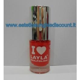 Layla Nail Polish Smalto I Love Layla  - RED VAMP Y