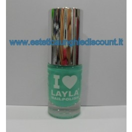 Layla Nail Polish Smalto I Love Layla  - GREEBY BL