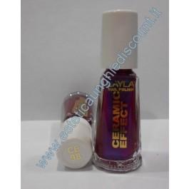 Layla nail polish Smalto Ceramic Effect CE98