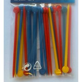 Spilloni di plastica per Bigodini conf. da 20 pz