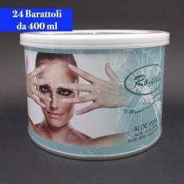 Cera Liposolubile Roial Barattolo all'Aloe Vera 400 ml conf.24 pezzi