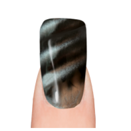Layla Gel Polish Smalto Gel Semipermanente  MAGNEFFECT -  33 BLACK SEDUCTION