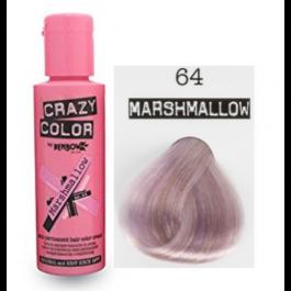 Crema Colorante Semipermanente Crazy Color n°64 Marshmallow