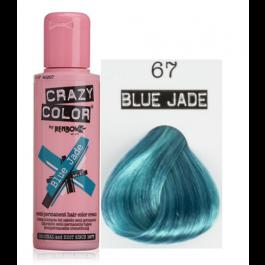 Crema Colorante Semipermanente Crazy Color n°67 Blue Jade