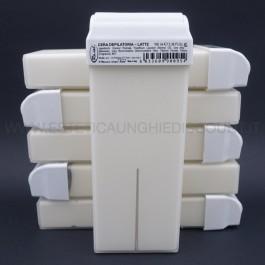 6 Cera Liposolubile Roial Ricarica Rullo al Latte 100 ml