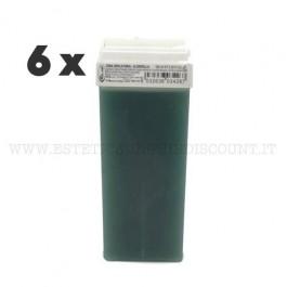 6 Cera Liposolubile Roial Ricarica alla Clorofilla 100 ml