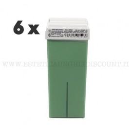 6 Cera Liposolubile Roial Ricarica alla Mela Verde 100 ml