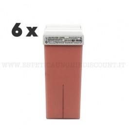 6 Cera Liposolubile Roial Ricarica al Titanio Rosa 100 ml
