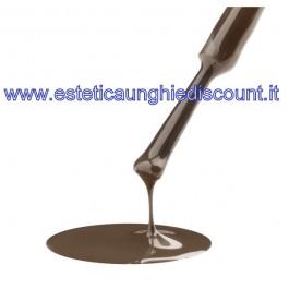 Estrosa Smalto Semipermanente Colorato -  7017 FANGO