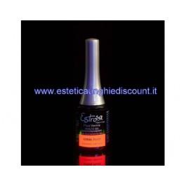 Estrosa Smalto Semipermanente Colorato -  7058 CORAL FLUO