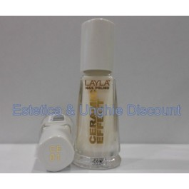 Layla nail polish Smalto Ceramic Effect CE02