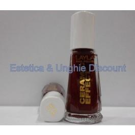 Layla nail polish Smalto Ceramic Effect CE07