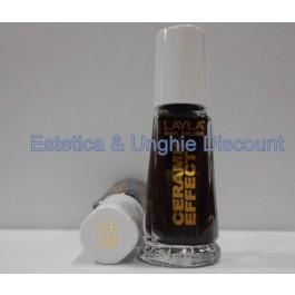 Layla nail polish smalto ceramic Effect CE08