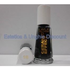 Layla nail polish Smalto Ceramic Effect CE10