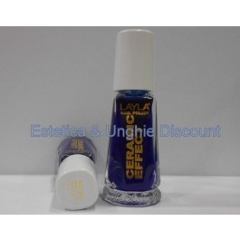 Layla nail polish Smalto Ceramic Effect CE13