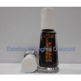 Layla nail polish Smalto Ceramic Effect CE15