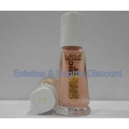 Layla nail polish Smalto Ceramic Effect CE17