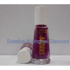 Layla nail polish Smalto Ceramic Effect CE22