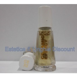 Layla nail polish Smalto Ceramic Effect CE32