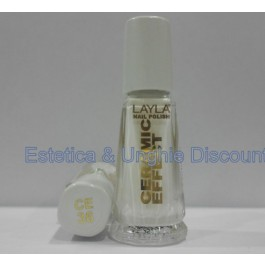 Layla nail polish Smalto Ceramic Effect CE36