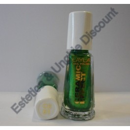 Layla nail polish Smalto Ceramic Effect CE61