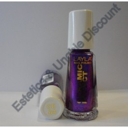 Layla nail polish Smalto Ceramic Effect CE64