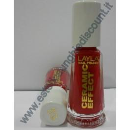 Layla nail polish Smalto Ceramic Effect CE67