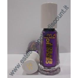 Layla nail polish Smalto Ceramic Effect CE71