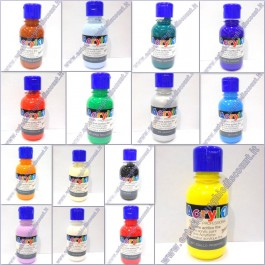 Set 15 Colori da 125ml Acrilici per Micropittura Nail Art Acryl1 MoroColor