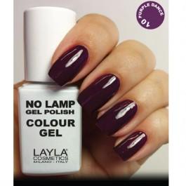 LAYLA Gel Polish NO LAMP - 10 PURPLE DANCE