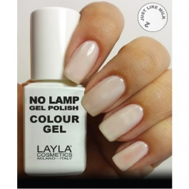 LAYLA Gel Polish NO LAMP -  2 JUST LIKE MILK