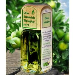 Puro olio essenziale d'origine BIOLOGICA di MANDARINO VERDE (Citrus reticulata)