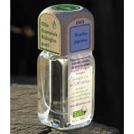 Puro olio essenziale d'origine BIOLOGICA di MENTA PIPERITA (Mentha piperita)