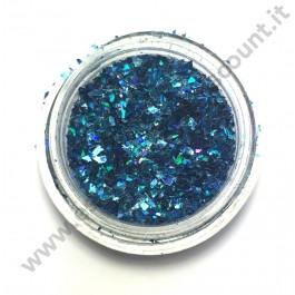 Scaglie nail art blu mare