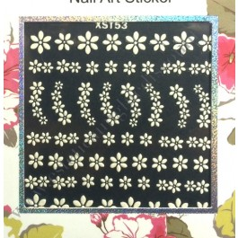 Stickers Nail Art Fiori di Primavera