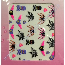 Stickers Nail Art Halloween Horror