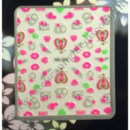 Stickers Nail Art Glamour