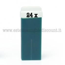 Scatola intera (24 pz) ricariche Cera Liposolubile Roial all'AZULENE da 100ml