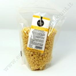 Cera Brasialiana a Caldo in granuli al MIELE 250 gr riutilizzabile.