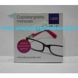 Copristanghette monouso protezione trattamenti chimici per occhiali