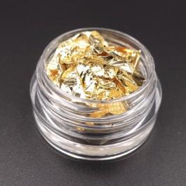 Foglia Oro per decorazione nail art GOLDEN