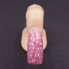 Gel Unghie Colorato UV/LED - GlitterChic ROSA BARBIE G 539