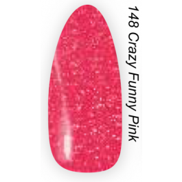 Layla Gel Polish Smalto Gel Semipermanente -  148 CRAZY FUNNY PINK