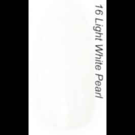 Layla Gel Polish Smalto Gel Semipermanente -  16 LIGHT WHITE PEARL
