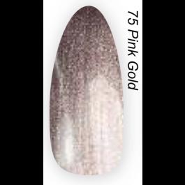 Layla Gel Polish Smalto Gel Semipermanente -  75 PINK GOLD