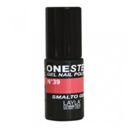 Layla One Step Gel Nail Polish smalto semipermanente -  39 MADEMOISELLE