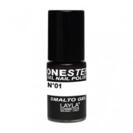 Layla One Step Gel Nail Polish smalto semipermanente - 01 100% WHITE